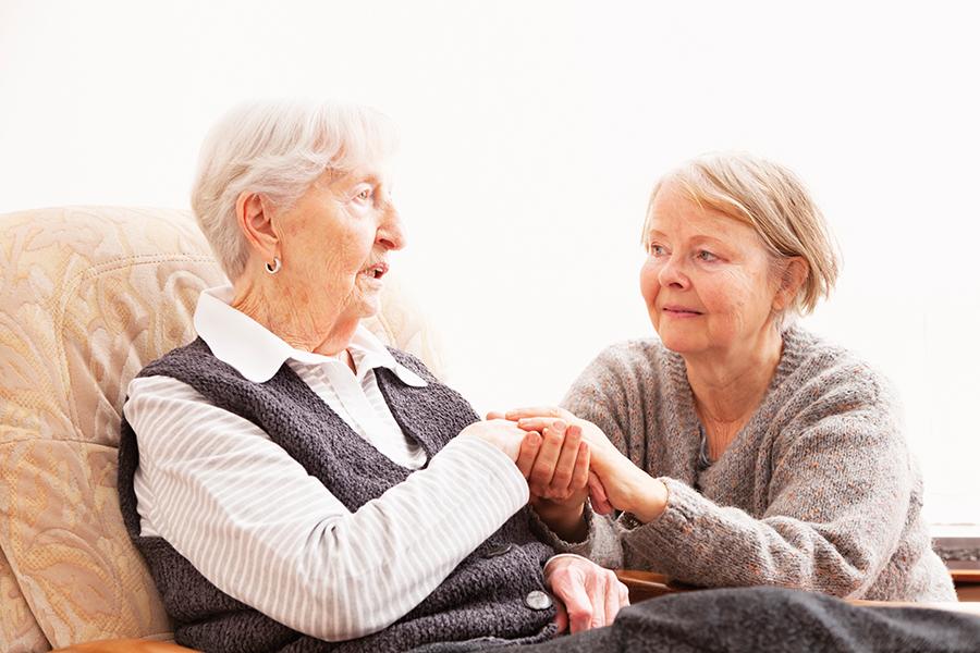 Pflegende Angehörige: ohne Gemeinden geht's nicht!