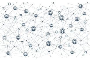 Illustration: Bewerber_innen im Datennetz