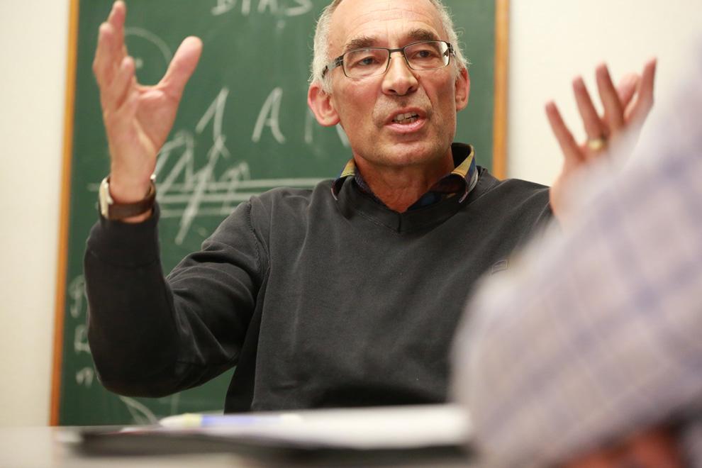 Peter Mülhaupt im Gespräch