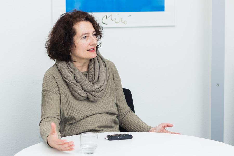 Liliane Blurtschi im Gespräch