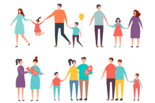 Auswahl an Familientypen