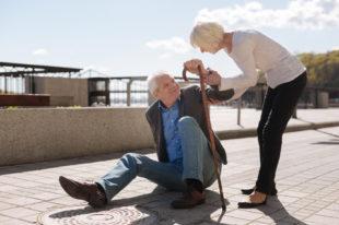 Sturz im Alter: Ein Sensor für ein höheres Sicherheitsgefühl